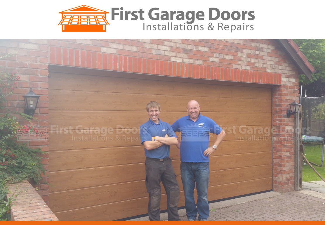 Exceptional First Garage Doors Father And Son Working Together
